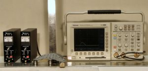 Advanced Oscilloscope and signal conditioning measurement equipment